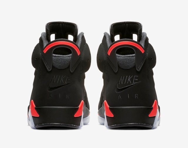 wholesale dealer 4cde3 3fee2 This year marks the first time since 2000 that the Air Jordan 6  Black  Infrared  will return with OG-style Nike Air branding.