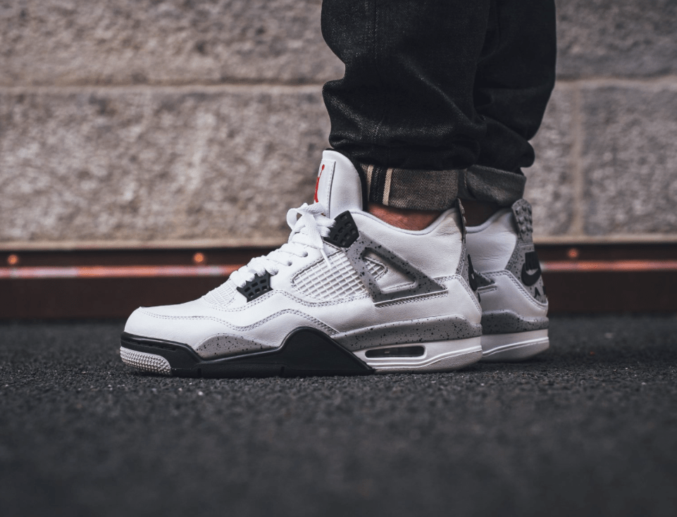 "055e16b04cf18d Take a moment and checkout the detailed images of the Nike Air Jordan 4 OG   89 ""White Cement"" and drop your comments below in the comment section."