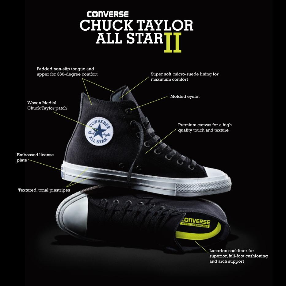 Converse Chuck Taylor 2 Now Available In SA YoMZansi