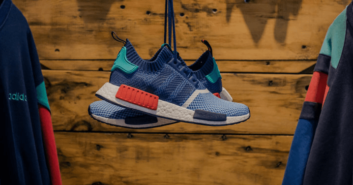 uk availability cc414 a6768 Meet the Packer Shoes x adidas NMD Primeknit. Finding its stride by mixing  heritage influences with modern technology, the brand with three stripes  keeps ...