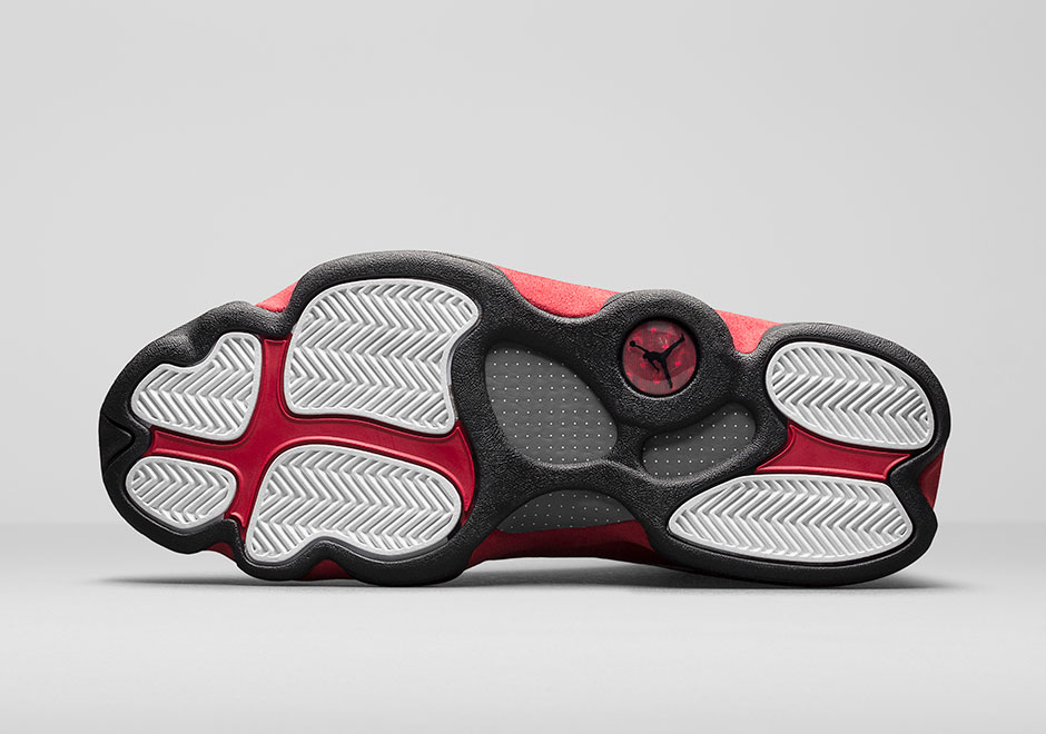 977fad0e28b Dressed in the classic Chicago Bulls color scheme. This Air Jordan 13 a White  tumbled upper that runs up the tongue, as well as on the unique side panels  ...