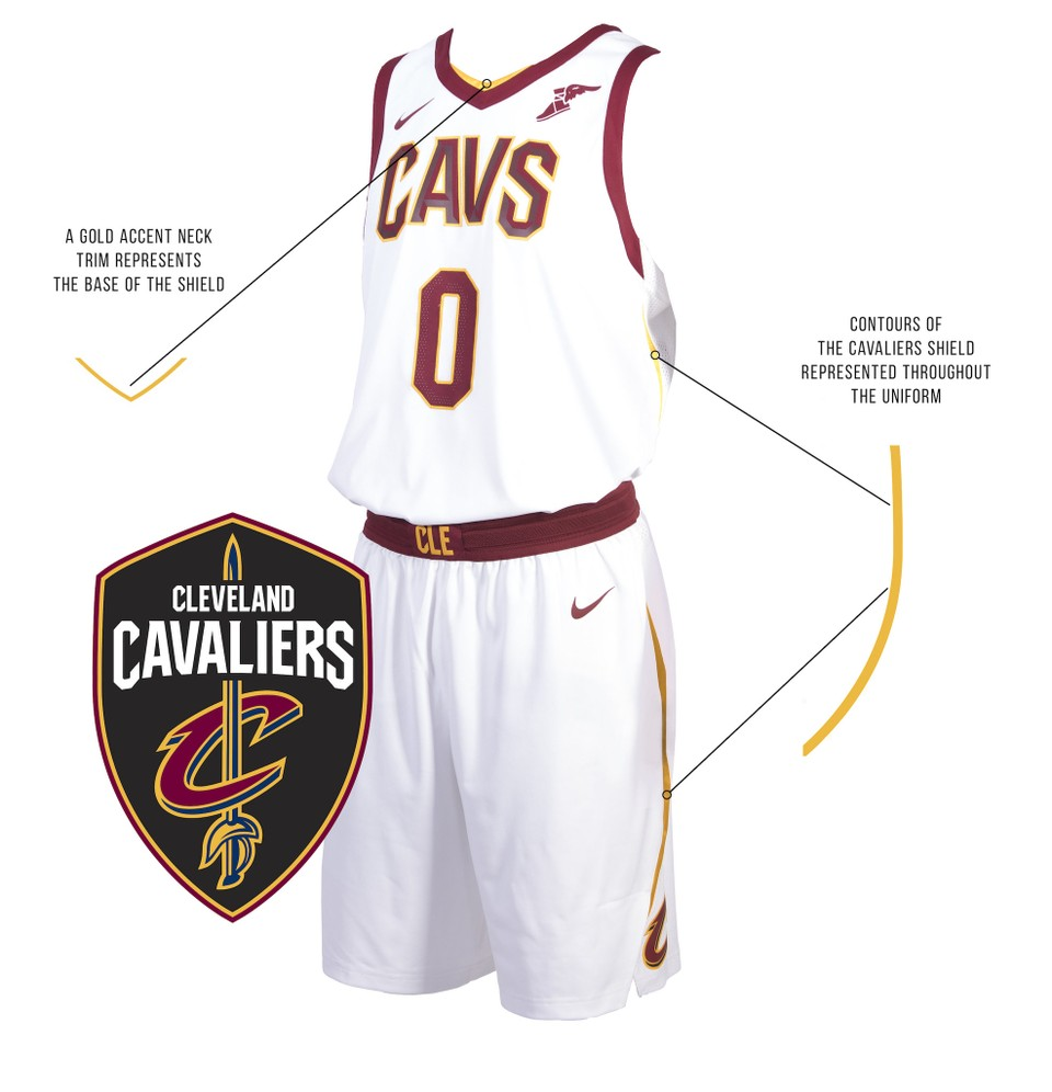 92b23facc Cleveland Cavaliers unveil new Nike uniforms for 2017-18 NBA season ...