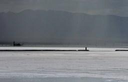 Chaka Salt Lake in Qinghai Province