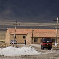 Chaka Salt Lake, Qinghai Province, China