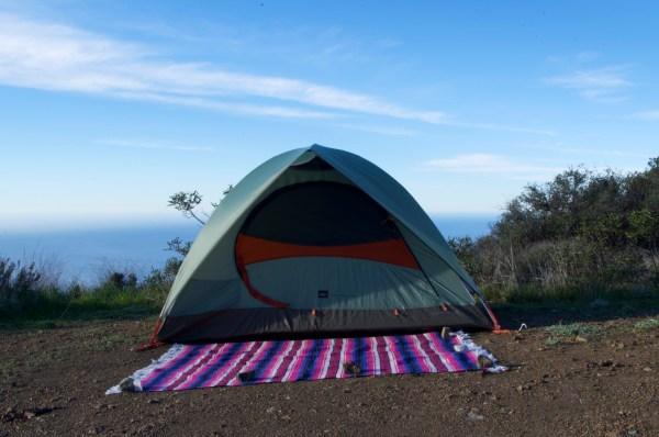Tent & Blanket