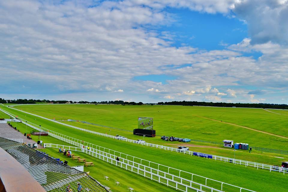 View from Royal Box Epsom Downs Racecourse