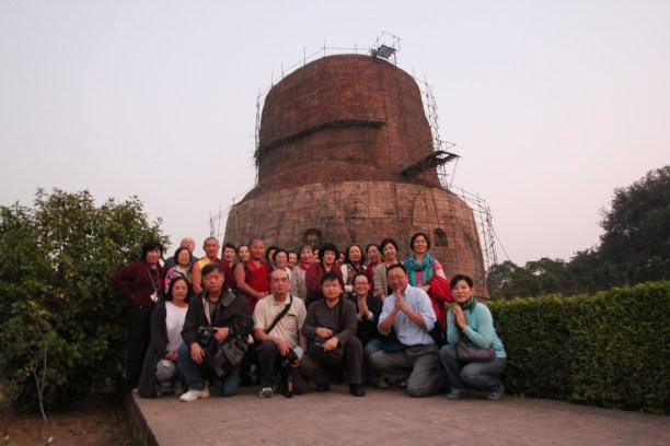 10 (Group at Sarnath Stupa)
