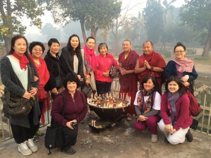 20 (Group at Nirvana Temple)