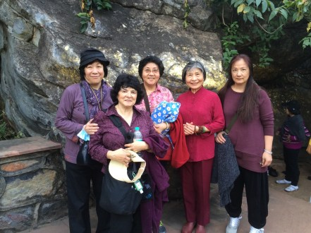 28 (Group at Saptapami Cave)