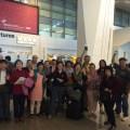 50 (Farewell at Delhi Airport)
