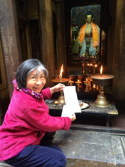2. Butter Lamp Offerings at 10,000 Buddha Stupa