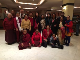 5. Dinner with Amala and Tsoknyi Rinpoche Family and Friends