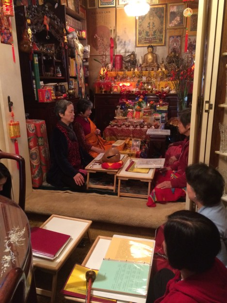 Meditation during Medicine Buddha Sutra Chanting