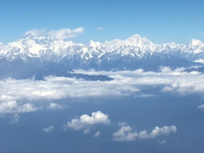 1 Flying into Nepal