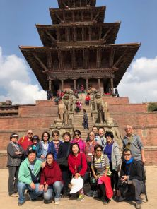 37 Group Photo at 5 Tier Temple