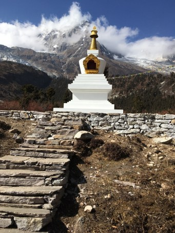 14. Enlightenment Stupa for Grandfather