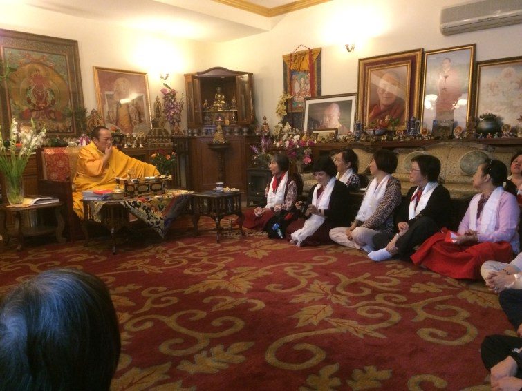 1 (Audiance with Tie Situ Rinpoche)