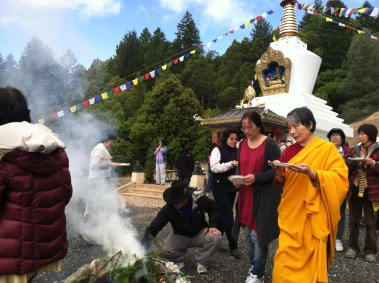 Offerings for Fire Puja