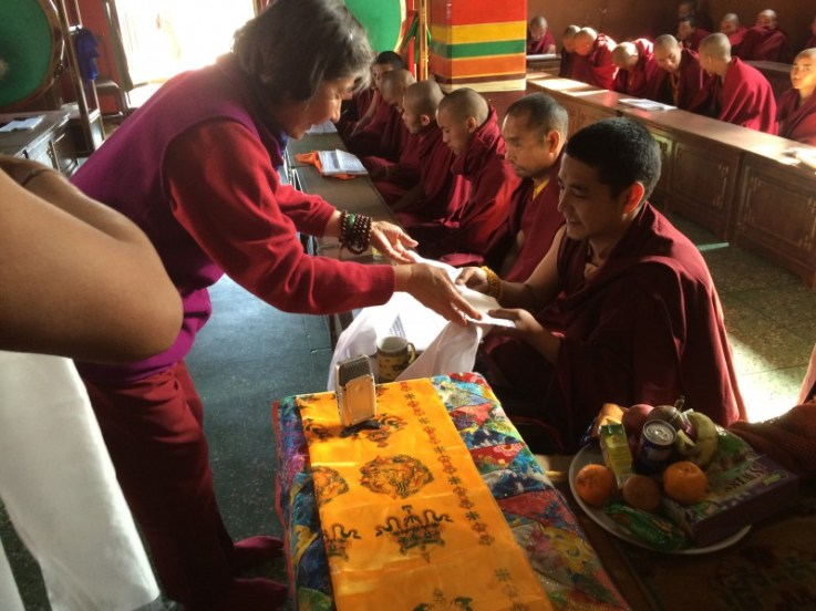 10. Guru Rinpoche Tsok Offering to Tashi Rinpoche