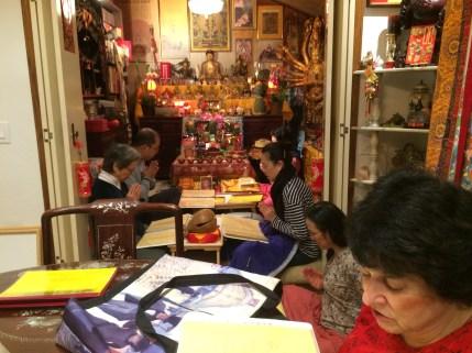 Chanting Guru Rinpoche Sutra