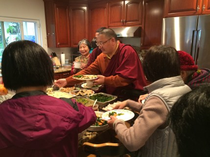 Lunch with Khenpo