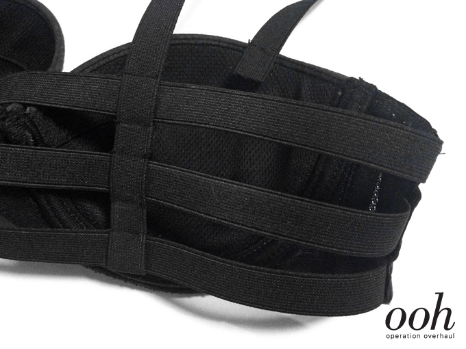 9 Operation Overhaul - Elastic Strappy Bra Sew Across