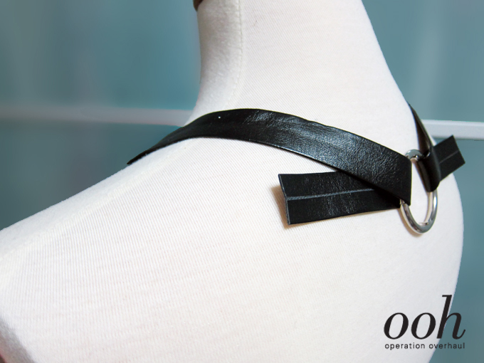 Operation Overhaul - Bershka Inspired Drop Harness Top Adjust Straps