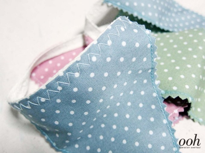 OOH - Fabric Buntings Stitching