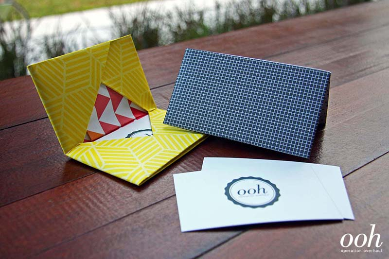 OOH - Origami Namecard Holder Final 2