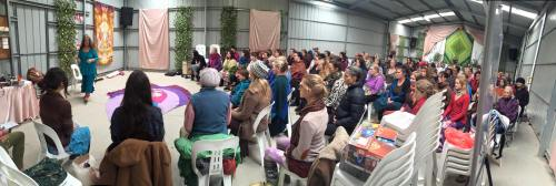yOnilates class at Seven Sisters Festival 2016