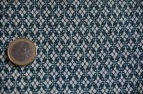 Nr. 1 : feines Muster blau