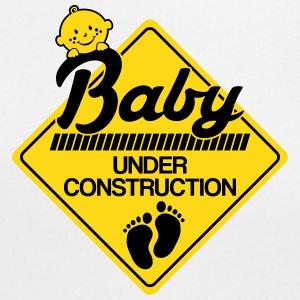 baby-under-construction-women-s-t-shirts-women-s-scoop-neck-t-shirt