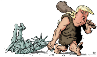 Caveman Trump