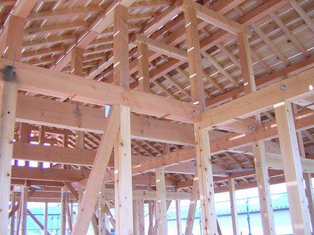 屋根終い完成