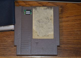 Nintendo World Championships Gray Cartridge