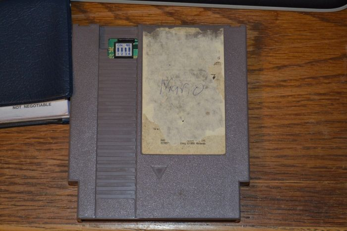 Nintendo World Championships Gray Cartridge