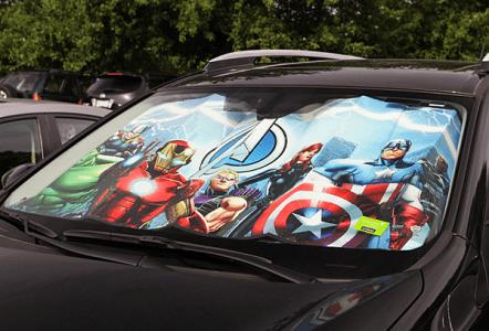 super heros pare brise 1