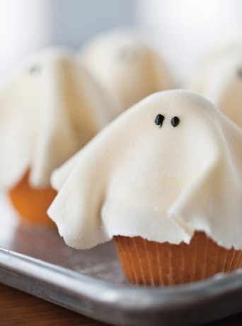 recettes halloween cupcake fantome