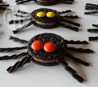 recettes halloween araignee oreo réglisse