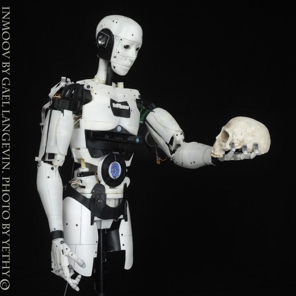 Inmoov le robot humanoïde yopaky