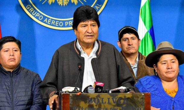 ¿De que acusan a Evo Morales?
