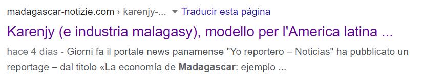 Madgascar Notizie