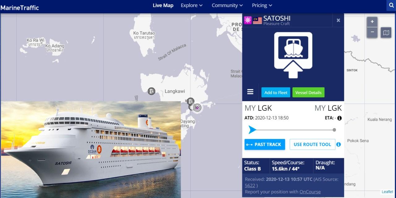 El proyecto del crucero residencial Satoshi se vino abajo