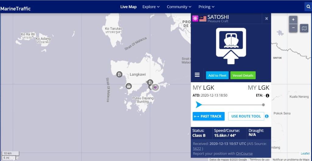 el crucero que debía arribar en Panamá a finales de diciembre está en Malaysia