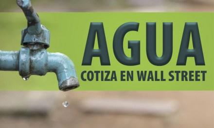 El agua ya cotiza en Wall Street, el principio del fin