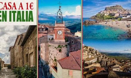 ¿Quieres una casa en Italia por 1 euro? 10 pueblos te la asignan