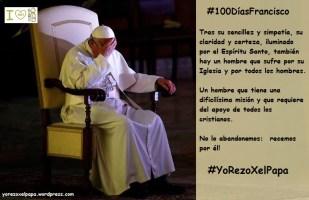Papa Francisco sufre y reza_YoRezoXelPapa