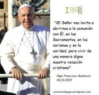 Papa Francisco_Fotomontaje_Yorezoxelpapa_Audiencia_06112013