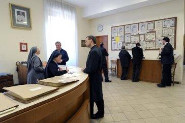 Oficina pergaminos bendición apostólica limosnería