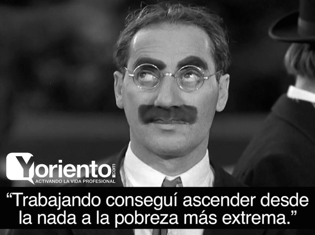 Reinvención con Groucho Marx